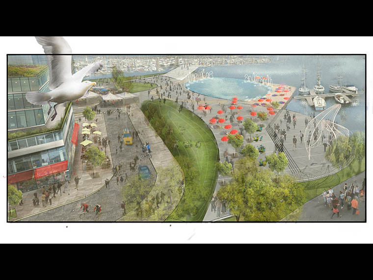 See the Possibilities - 1 Port Street East - Future Destination Park Possibility