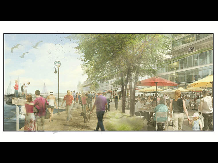 See the Possibilities - 1 Port Street East - Future Wharf Promenade Possibility