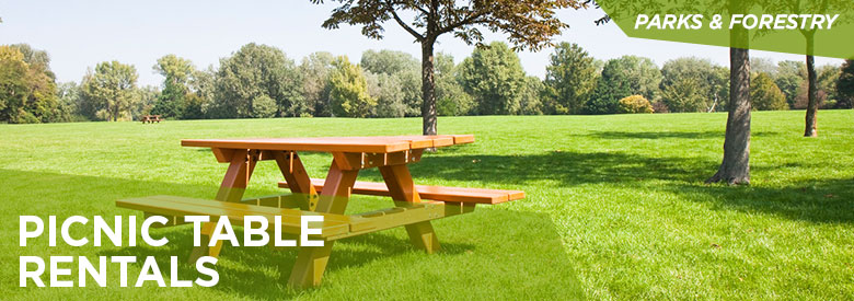 City of Mississauga Parks and Forestry - Picnic Table Rentals