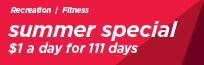 Fitness Summer Special