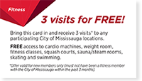 3 Visits for FREE Card