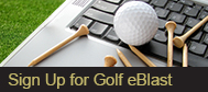 Win Free Golf - Sign up for enews