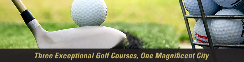 Two exceptional golf courses. Two unique experiences. In one magnificent city. Welcome to Mississauga City Golf.