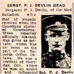 Percy J. Devlin