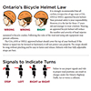 Ontario¿s Bicycle Helmet Law and Signals to Indicate Turns