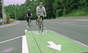 Coloured Bicylce Lanes