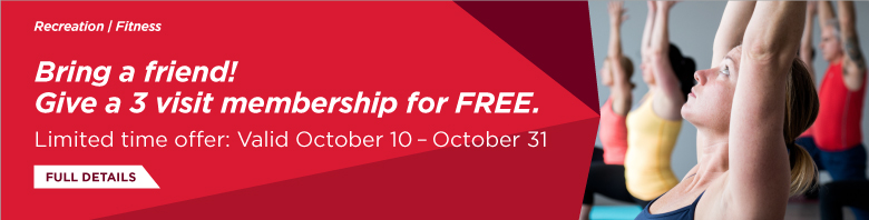 Bring a Friend - Give a 3 Membership for Free