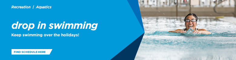 Visit one of your outdoor pools - now open