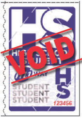 High School Student Ticket
