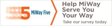 MiWay Five - Transit Service Plan 2016-2020