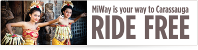 MiWay is your way to Carassauga