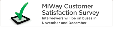 MiWay Customer Satisfaction Survey