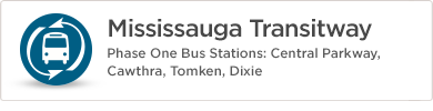 Mississauga Transitway Information