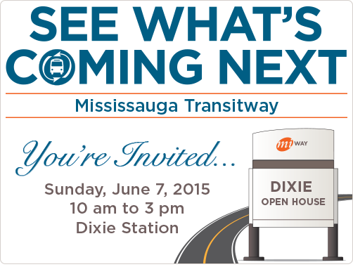 Mississauga Transitway Open House