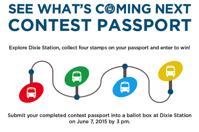 See What's Coming Next Contest Passport