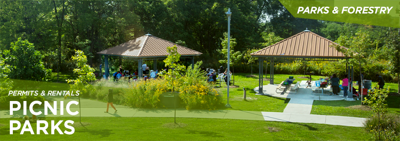 City of Mississauga Parks and Forestry - Picnic Parks
