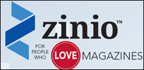 Download free magazines with Zinio!