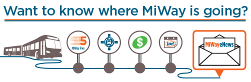 Subscribe to MiWay eNews