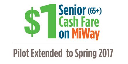 Senior $1 Fare Extended