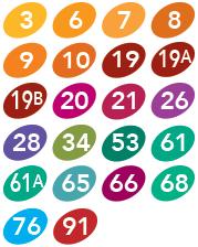 CCTT MiLocal Routes 3,6,7,8,9,10,19,19a,19b,20,21,26,28,34,53,61,61a,65,66,68,76,91