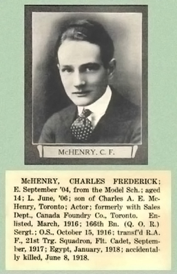 Charles Frederick McHenry