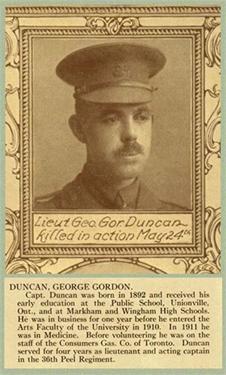 Lieutenant George Gordon Duncan