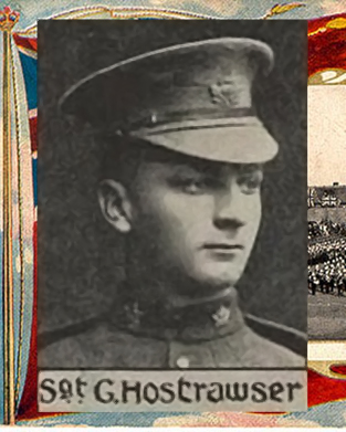 Sergeant George Hostrawser
