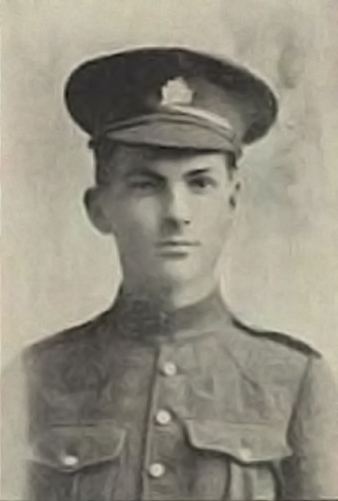 Corporal Harold Edwin Statia