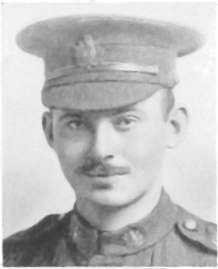 Private Percival Brooks