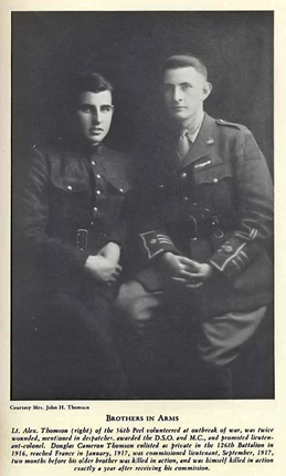 Alexander and Douglas Thomson