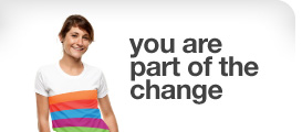 you are part of the change