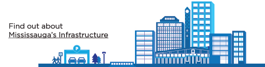Find out about Mississauga's infrastructure