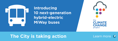 Introducing MiWay's Next-Generation Clean Diesel Hybrid-Electric Buses