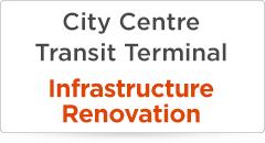 City Centre Transit Terminal Construction