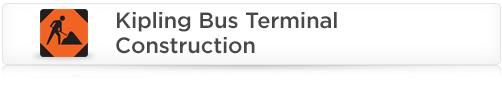 Kipling Bus Terminal Construction