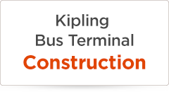 Kipling Bus Terminal Construction