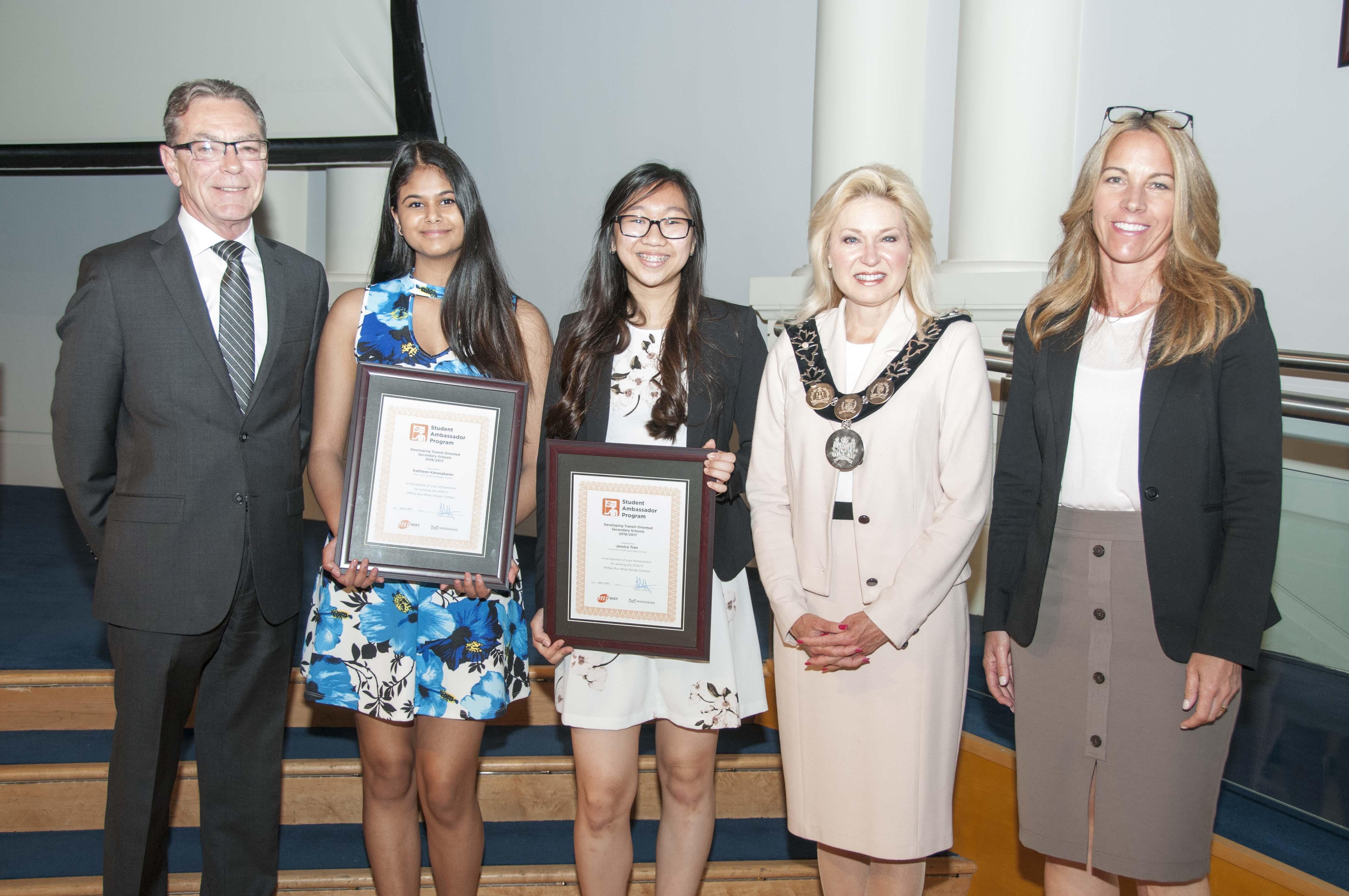MiWay Student Ambassador Program Winner