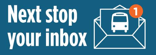 Next Stop Your Inbox