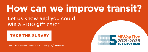 How can we improve transit? Let us know and win a prize. Take the survey.