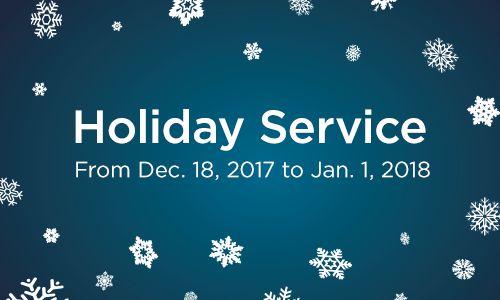 MiWay Holiday Service