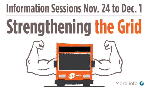 Information Session November 24 to December 1 - Strengthening the Grid - Learn More