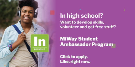 MiWay Student Ambassador Program apply like right now