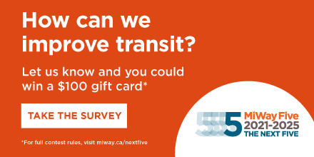 How can we improve transit? Let us know and win a prize. Take the survey