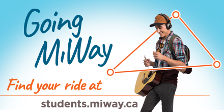 Students Going MiWay. Click for more Student Information