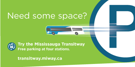 What's Stopping you? Hop on the Transitway Today. Learn more at transitway.miway.ca