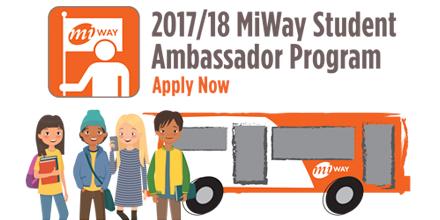 MiWay Student Ambassador Banner Image