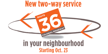 MiWay Service Promotion - Route 39