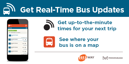 Get MiWay information with MiWay's Real-time