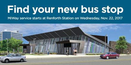 Renforth Transitway Station, Opening November 22, 2018