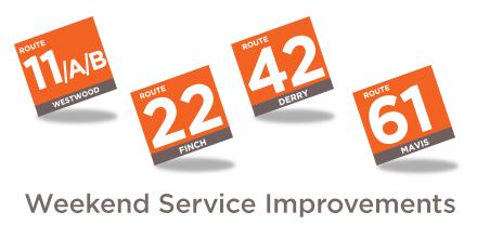 Service Update Banner